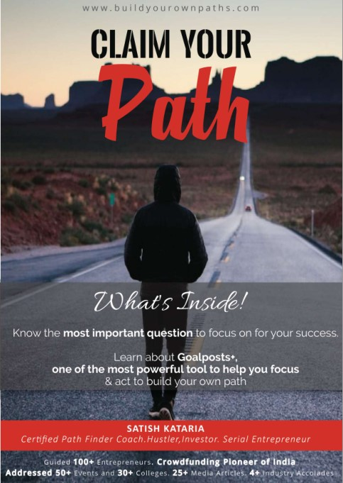 Claim Your Path Ebook by Satish Kataria